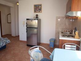Kuchyňský kout a vybavení apartmánu