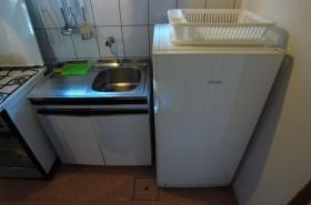 Plynová lednice v kuchyni