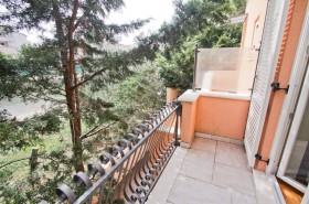 Balkon u ložnice