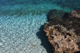 Tykrysově čisté moře v zátoce