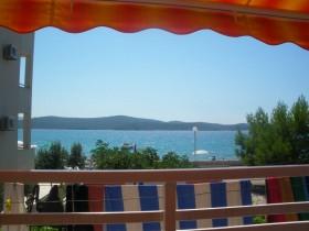 Výhled z terasy na moře