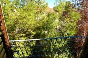 Výhled z balkonku