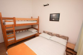 Patrová postel v ložnici