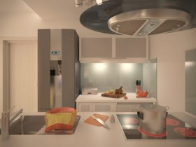 Vybavení kuchyňské části