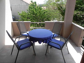 Posedenie na terase