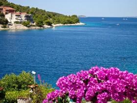 Romantický pohled na moře