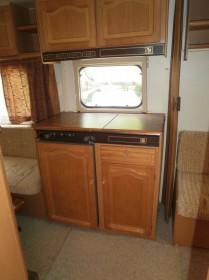Kuchyňka v karavanu č. 3