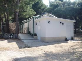 Sociální zařízení v kempu