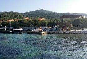 Pohled na dům z moře