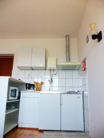 Kuchynský kút v apartmáne