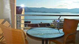 Pohled z jednoho z balkónu