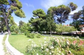 Zeleň parku v Trogiru