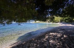 Příjemný stín na pláži