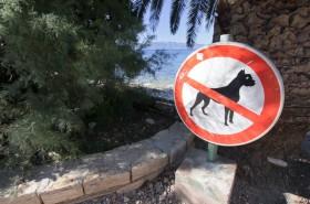 Pejskům není vstup na pláž povolen