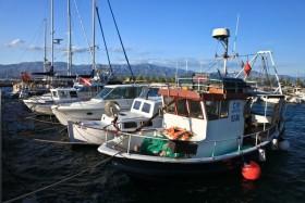 Kotvící loďky