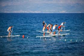 Příprava na stand up paddle surf