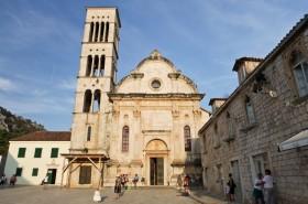 Katedrála sv. Štěpána a biskupský palác