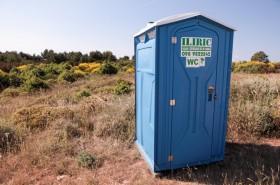 Záchod u pláže