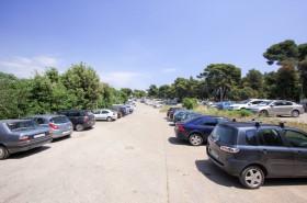 Parkování u pláže