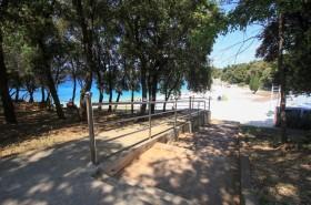 Přístup k pláži