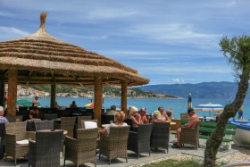Kavárna na pláži