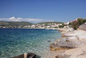 Mola na pláži