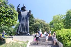 Socha sv. Řehoře Ninského