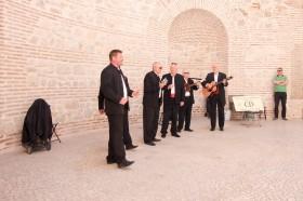 Pouliční muzikanti - klapa