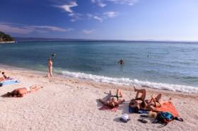 Hlavní pláž v Podstraně