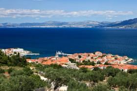 Výhled na chorvatskou pevninu