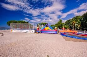 Atrakce pro děti (placený úsek pláže)