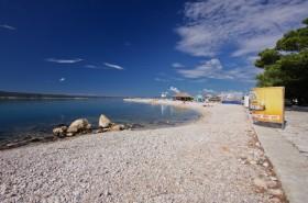 Další z pláží v Crikvenici