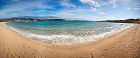 Panorama pláže Caska