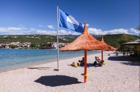 Pláž oceněna modrou vlajkou