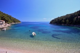 Výhled na Korčulu a Pelješac