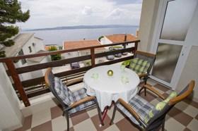 Balkon s výhledem na moře