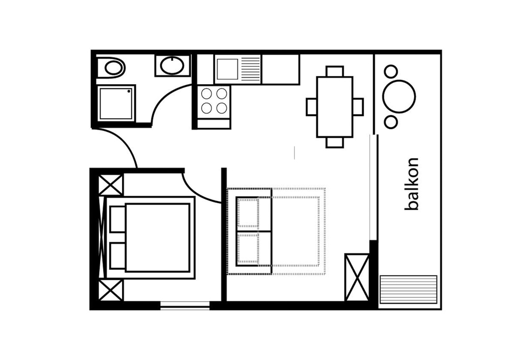 Apartmány Tilda