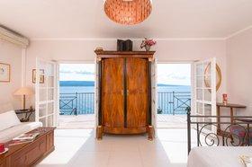 Pohled na moře z ložnice