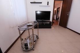 TV v obývací části