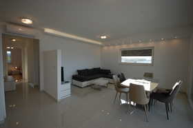 Moderně zařízený apartmán