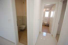 Umístění záchodu a koupelny