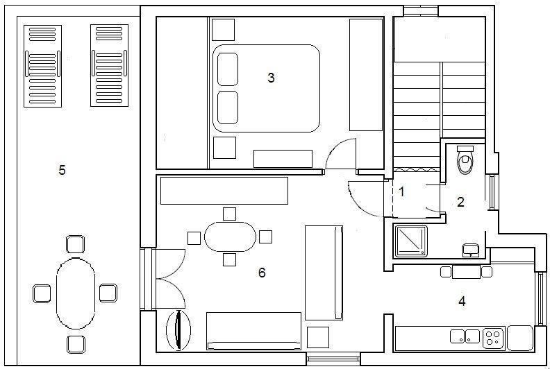 Apartmány Deana