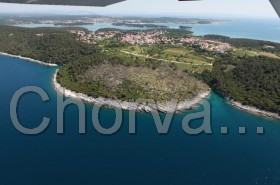 Letecký pohled na Premanturu