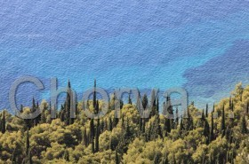Tyrkysové moře u Orebiće