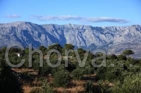 Výhled na pohoří Biokovo