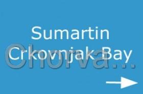 Zátoka Crkovnjak v Sumartinu