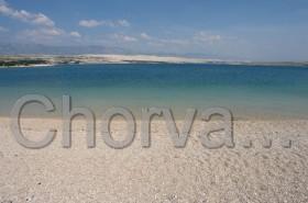 Průzračné moře na pláži Zrće