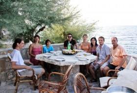 Poslední foto s majitelem a hurá na večeři :)