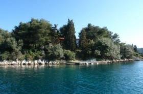 Poloha domu na ostrově