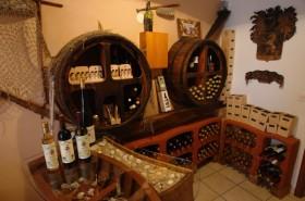 Vinný sklípek ve vile